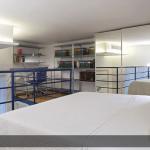Casa-Vittoria-Appartamento-La-Pittura-Letto-su-soppalco